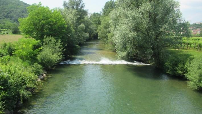 Izdelana je hidrološka študija reke Vipave